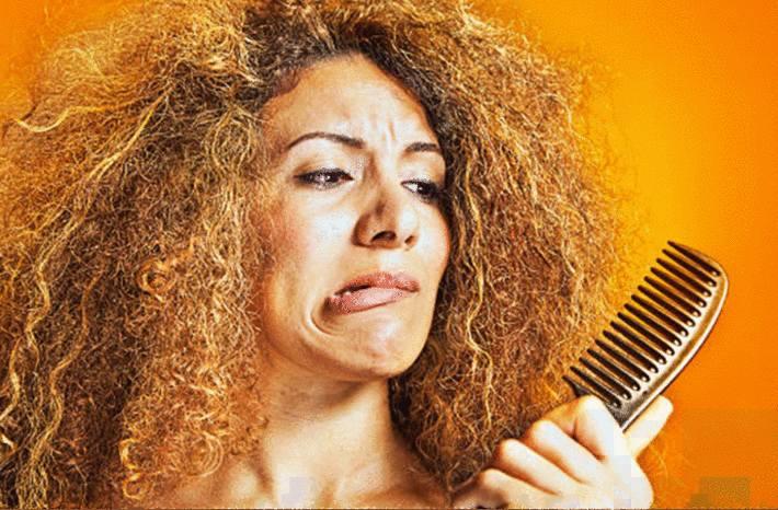 shampoing naturel, masque fait maison pour cheveux secs