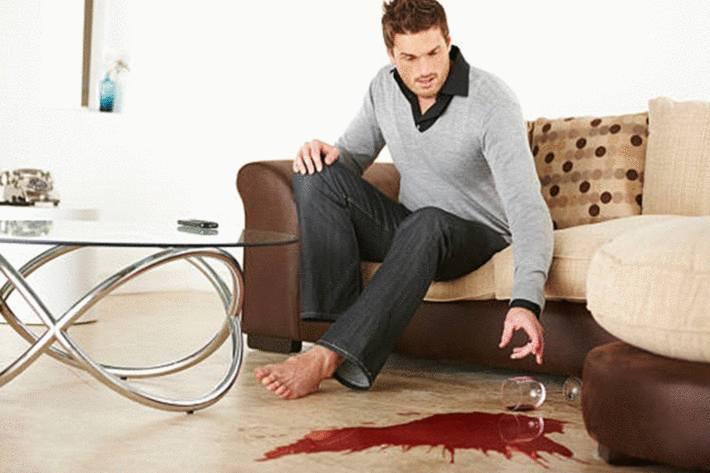 comment enlever une tache de sang