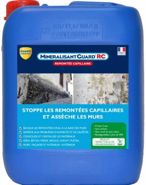mineralisant Guard pour assecher et durcir mur