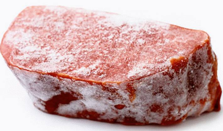 décongeler la viande