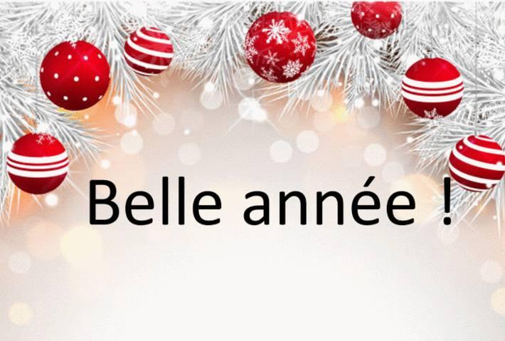 texte pour souhaiter bonne année