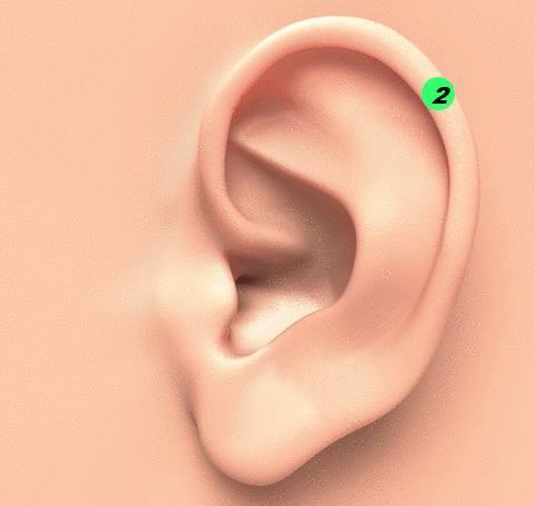remède anti douleur pincer l'oreille avec une pince à linge