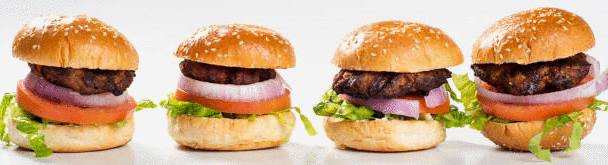 mini burger en amuse bouche