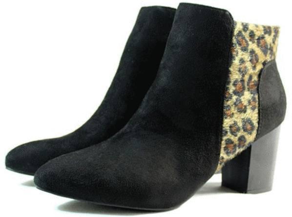 chaussure léopard petit prix