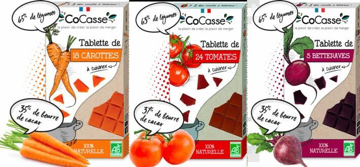 tablette de légumes