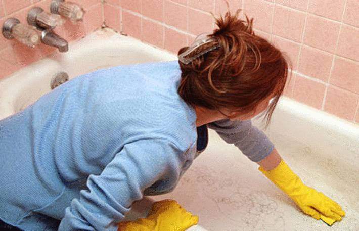 meilleur nettoyant pour nettoyer baignoire