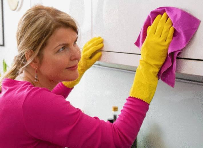 comment nettoyer meuble de cuisine
