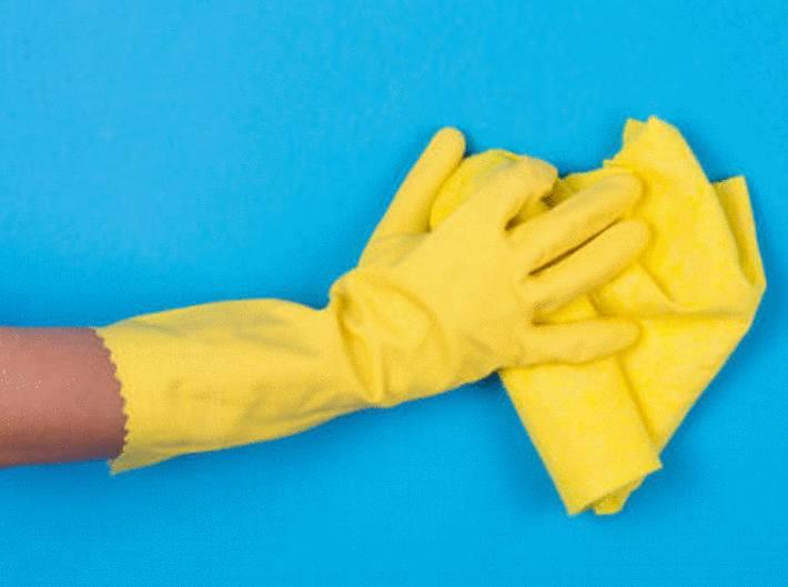 comment nettoyer un mur