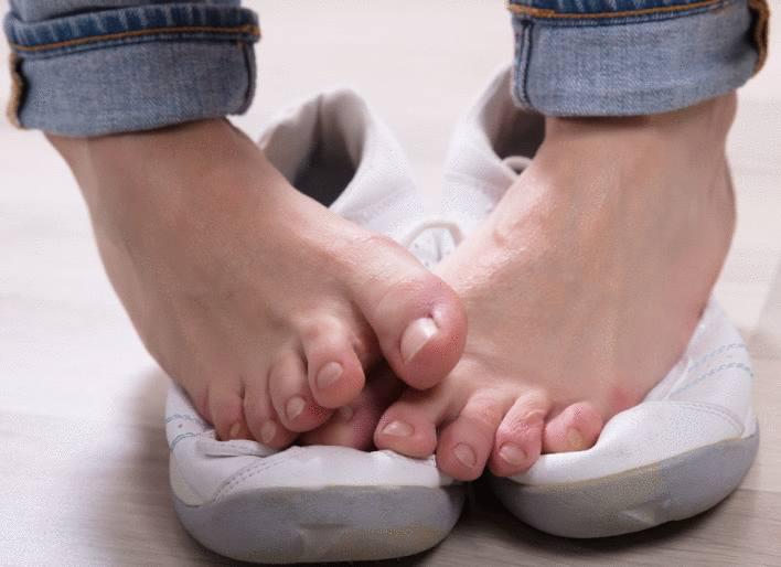 mycose pied, désinfectant chaussure