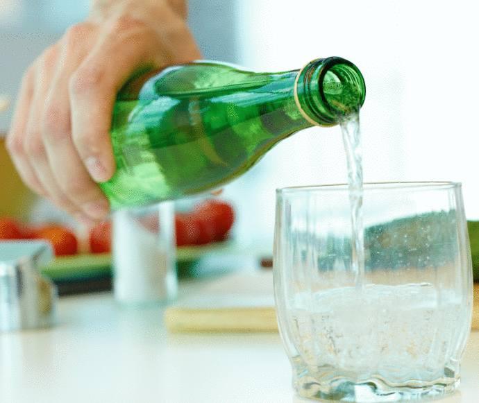 eau gazeuse santé danger