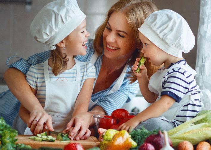 Faire la cuisine sans bactérie
