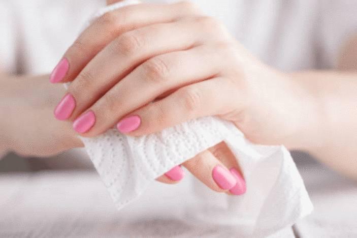Image result for vinaigre sur les mains