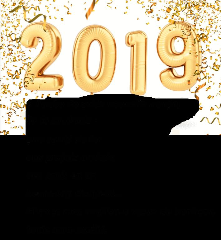 carte de voeux bonne année 2019 gratuite