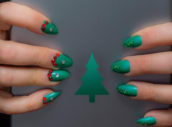 Comment faire un beau nail art pour noel \u2013 Tout pratique