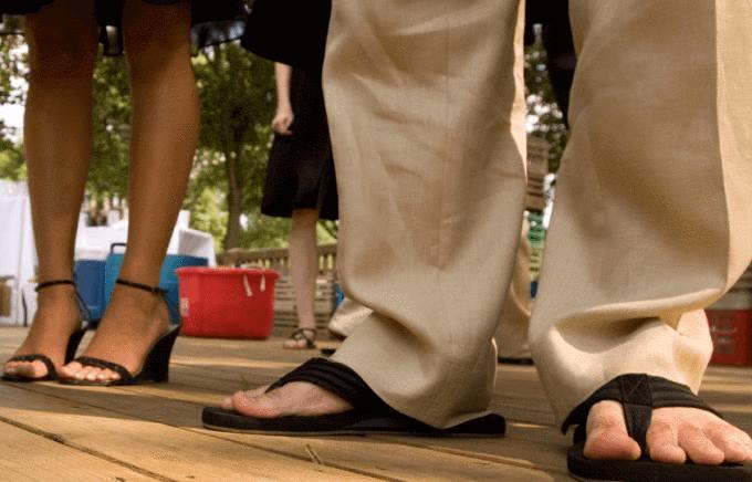 comment nettoyer les sandales