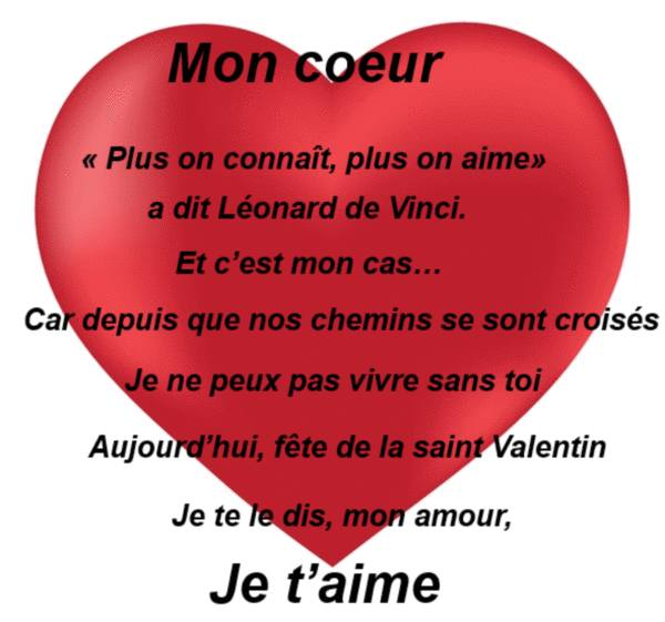 Sms gratuit related keywords suggestions sms gratuit - Message original saint valentin ...
