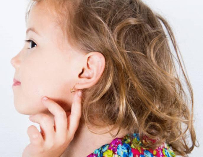 faire percer oreilles enfant