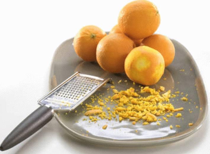 bienfaits des zestes d'orange