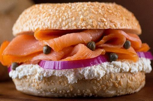 dresser assiette saumon fumé
