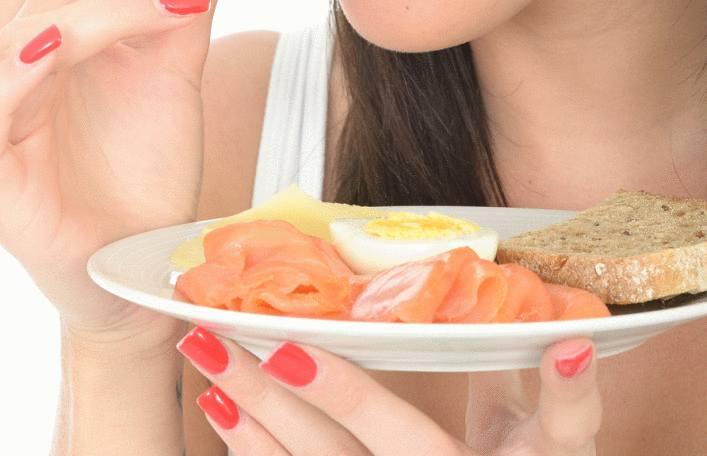 comment servir du saumon fumé