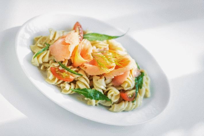 salade de pate ay saumon fumé