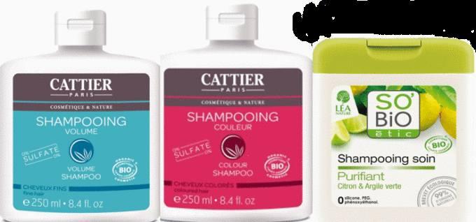 shampoing à la Boutique Toutpratique