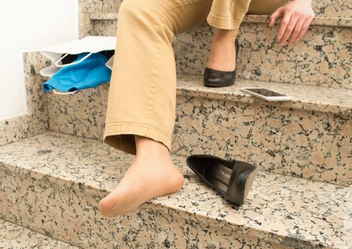 sol, escalier ou terrasse qui glisse