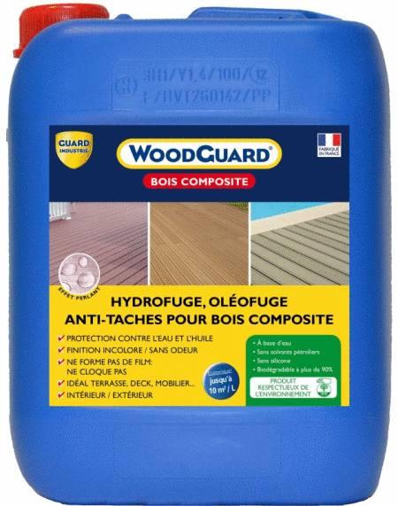 du WoodGuard, un produit pour protéger des taches les terrasses en bois