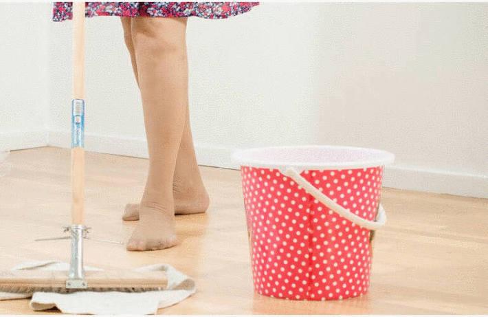 Nettoyer un parquet vitrifié