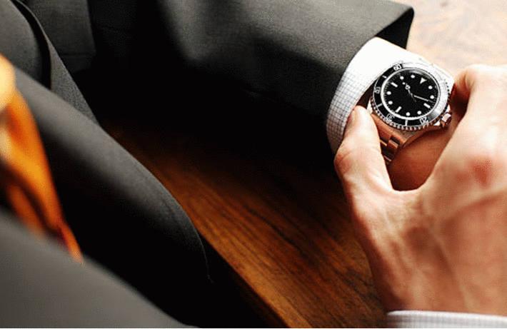 Nettoyer une montre acier