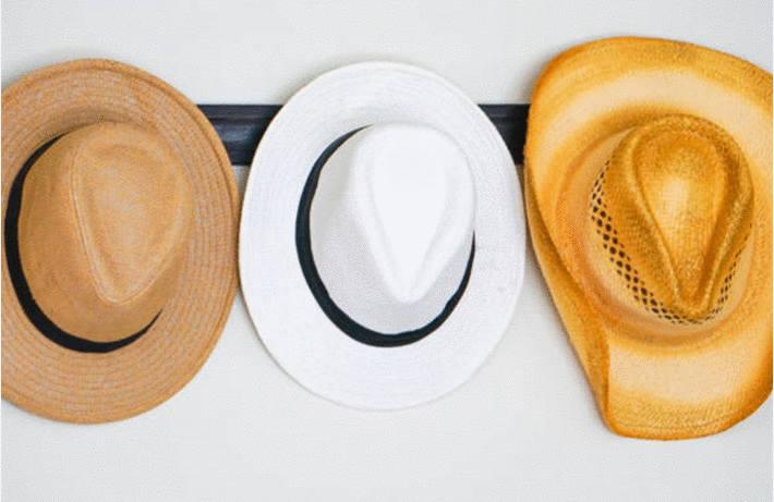 Ranger les chapeaux