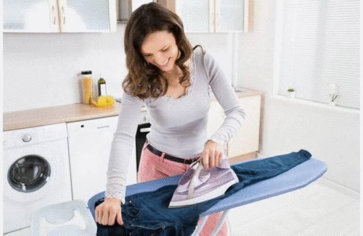 Repasser pantalon et jean