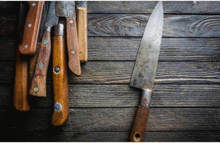 Nettoyer les lames de couteaux