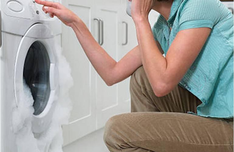 Eviter les debordements de mousse du lave-linge