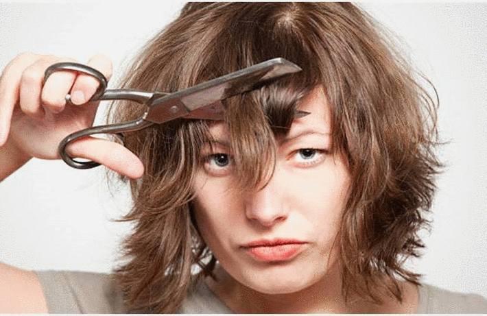 Coupe De Cheveux Courts Comment Se Couper Les Cheveux Tout Pratique