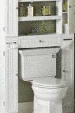 Aménager des rangements dans les toilettes - Tout pratique