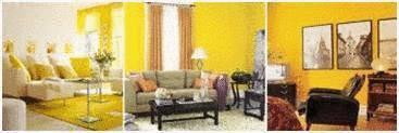 salon jaune une peinture jaune pour son salon