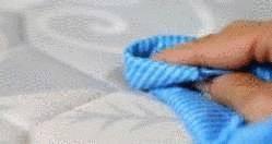 nettoyage d'une tache sur matelas